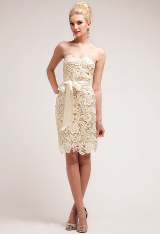 Lace cocktail dress ...sense of romance