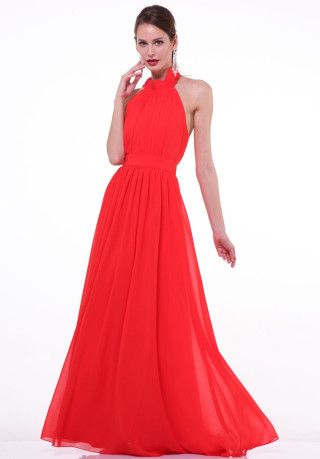 Timeless Red Evening Dress