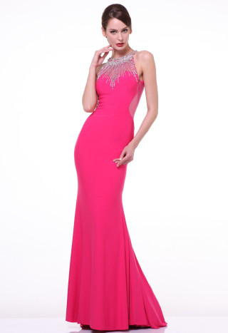 Fuchsia and the red carpet look...must have for Prom 2015!