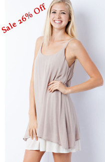 Now On Sale 26% Off This Casual Slip Dress. Shop Now!