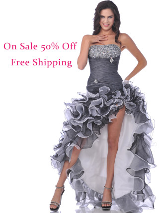 Our all time favorite prom dress. Now on deep discount and ships free via Priority Mail!