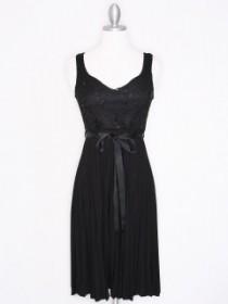 Little Black Pleated Dress $48.