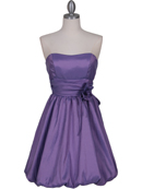 Lavender Bubble Cocktail Dress