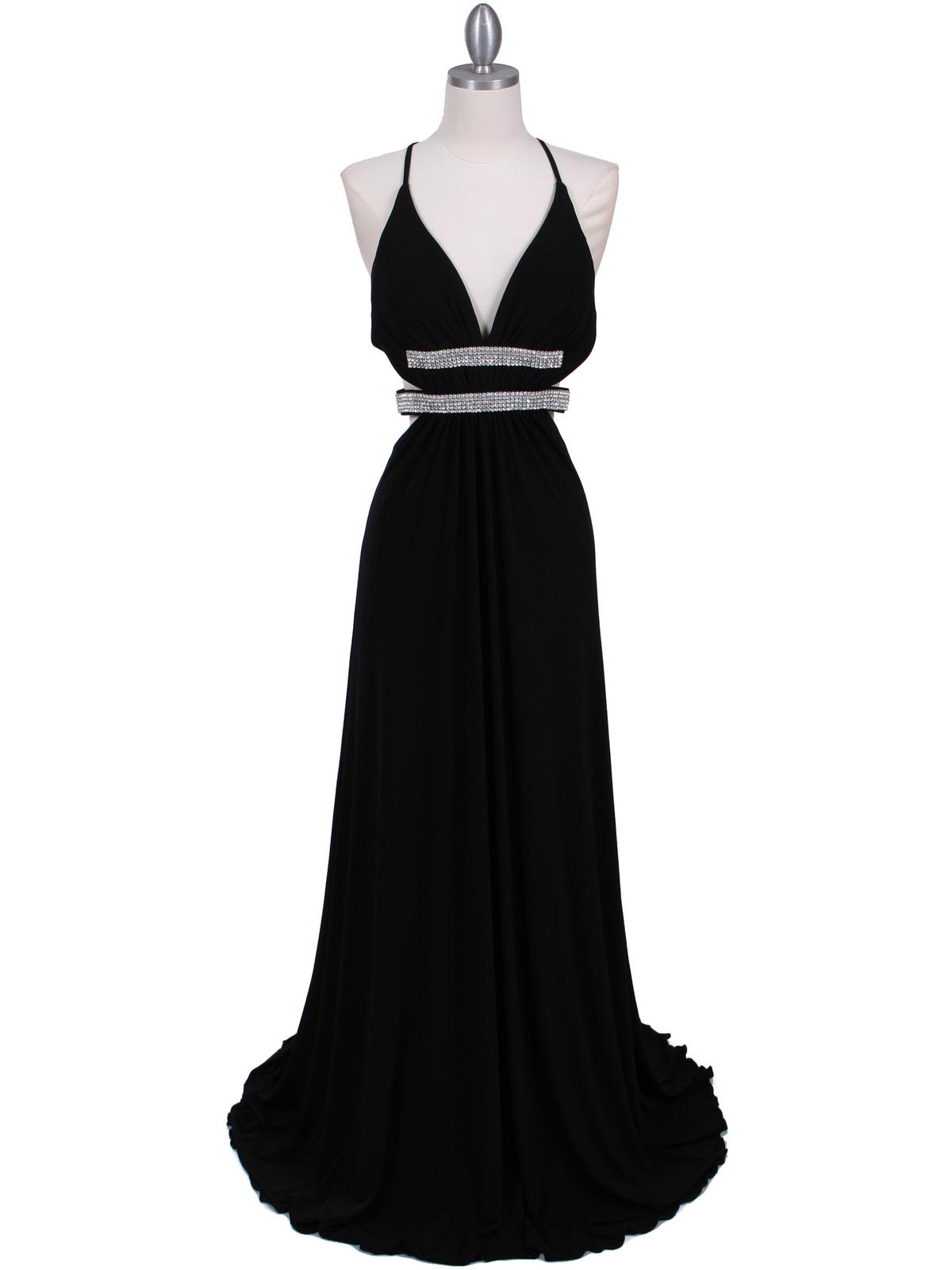 Black Evening Gown   Sung Boutique L.A.