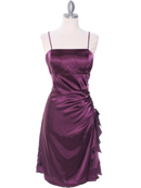 1517 Purple Cocktail Dress, Purple