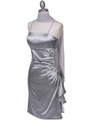 1517 Silver Cocktail Dress - Silver, Alt View Thumbnail