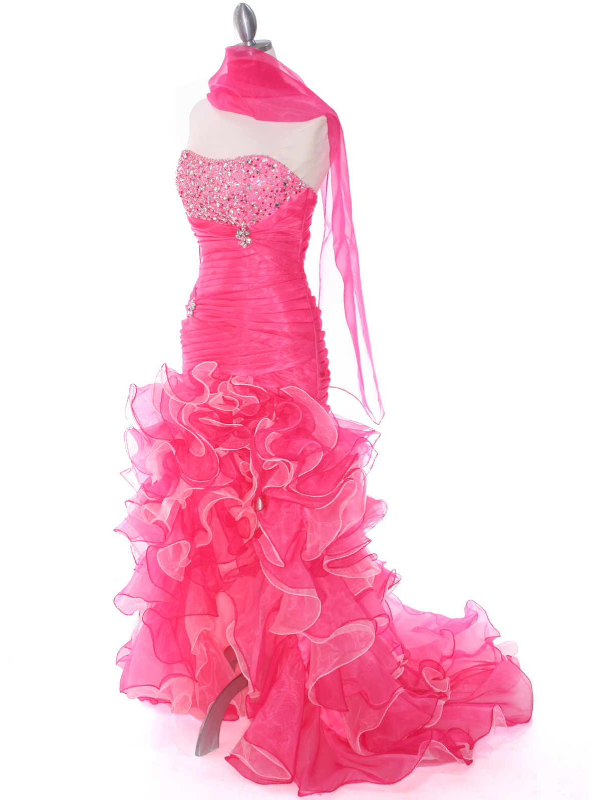 Hot Pink Prom Dress | Sung Boutique L.A.