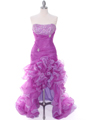 Purple Prom Dress - Front Image