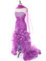 Purple Prom Dress - Alt Image