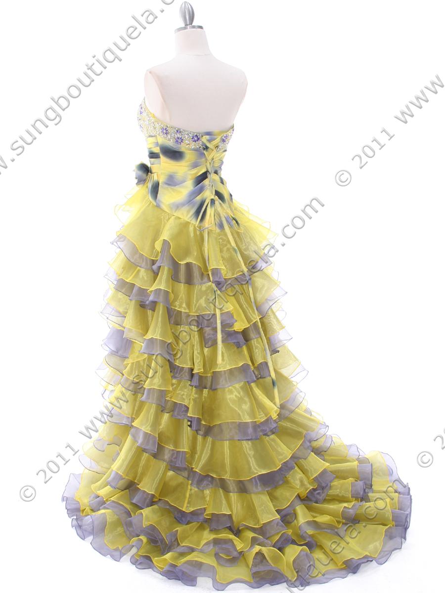 Formal Dresses Purple or Yellow