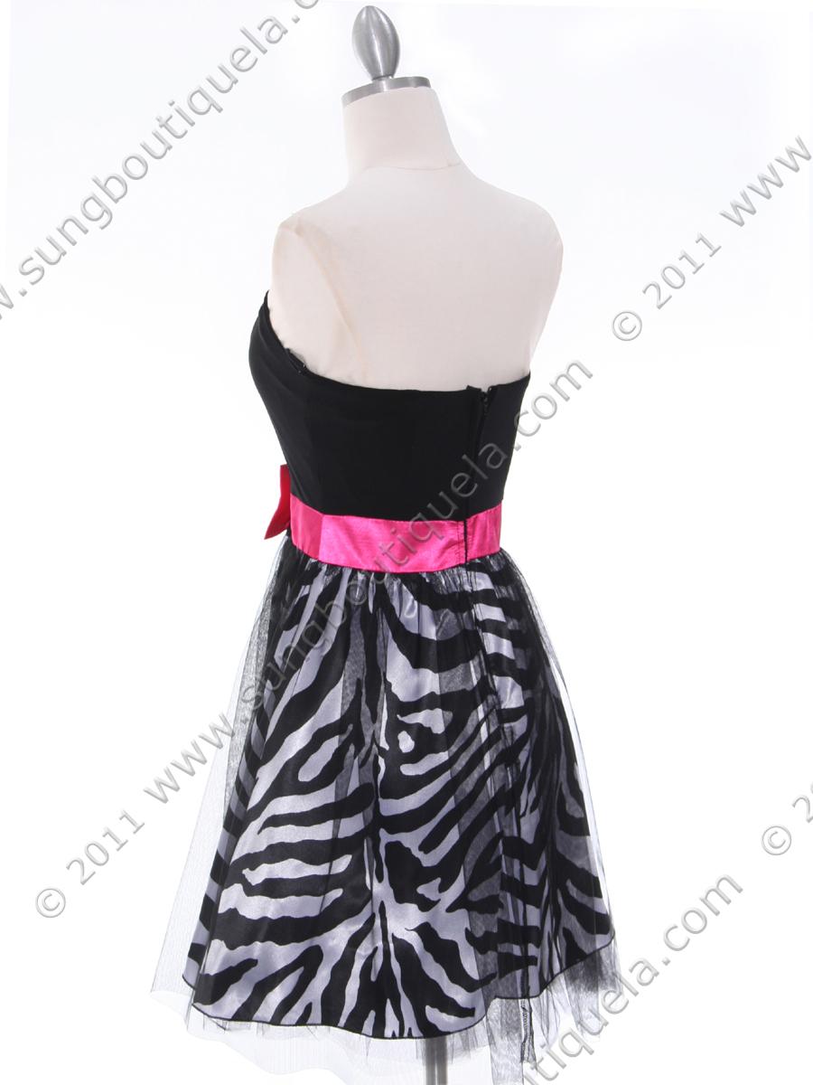 Zebra Cocktail Dresses 68
