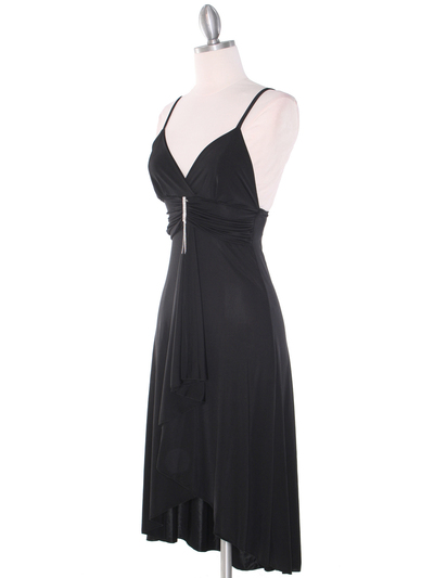 1745 Black Party Dress - Black, Alt View Medium