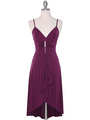 1745 Purple Party Dress