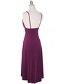 1745 Purple Party Dress - Purple, Back View Thumbnail