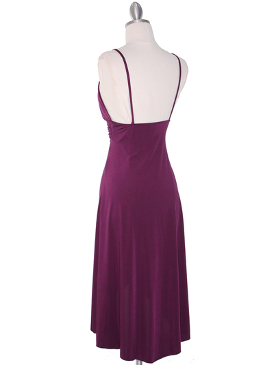1745 Purple Party Dress - Purple, Back View Medium