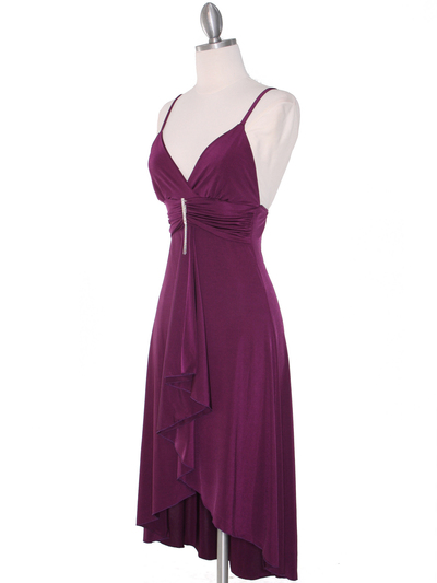 1745 Purple Party Dress - Purple, Alt View Medium