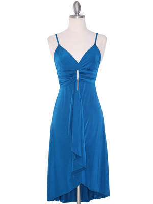 1745 Teal Cocktail Dress, Teal