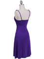 Purple Party Dress - Back Image
