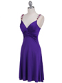 Purple Party Dress - Alt Image