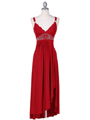 1813 Red Cocktail Dress