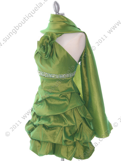 187 Green Homecoming Dress - Green, Alt View Medium