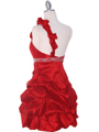 Red Homecoming Dress - Back Image