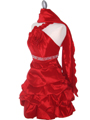 Red Homecoming Dress - Alt Image