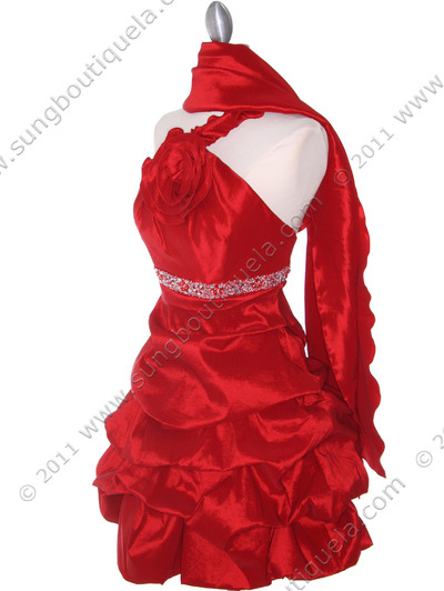 187 Red Homecoming Dress - Red, Alt View Medium