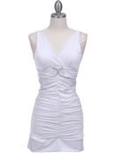 1921 White Party Dress, White