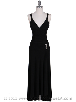 1924 Black Cocktail Dress, Black