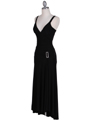 1924 Black Cocktail Dress - Black, Alt View Thumbnail