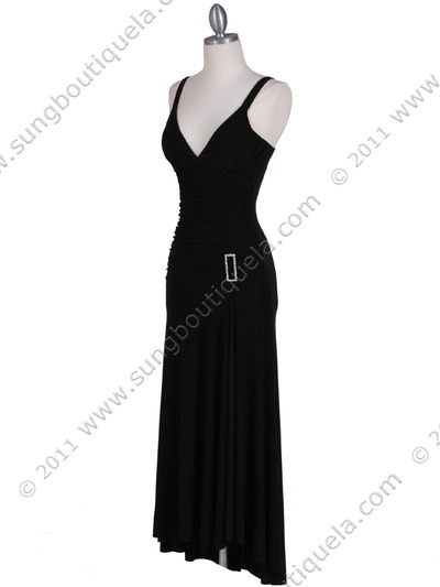 1924 Black Cocktail Dress - Black, Alt View Medium