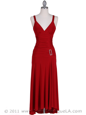 1924 Red Cocktail Dress, Red