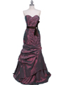 Light Purple Prom Evening Gown - Front Image