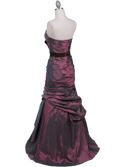 2004 Light Purple Prom Evening Gown - Light Purple, Back View Medium
