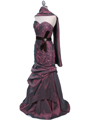 Light Purple Prom Evening Gown - Alt Image