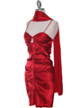 2010 Red Homecoming Dress - Red, Alt View Thumbnail