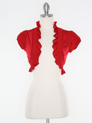 Red Short Sleeve Bolero
