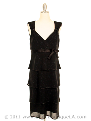 209 Black Evening Dress, Black