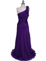 2129 Purple One Should Prom Evening Dress - Purple, Front View Thumbnail