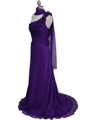 2129 Purple One Should Prom Evening Dress - Purple, Alt View Thumbnail