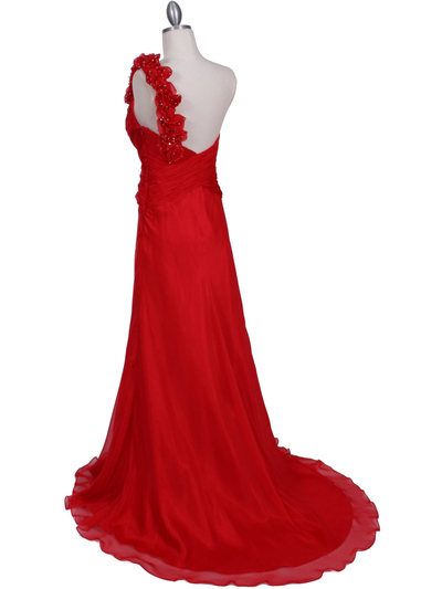 2129 Red One Should Prom Evening Dress - Red, Back View Medium