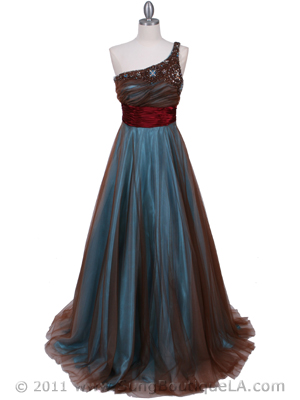 Jade One Should Prom Gown - Front Image