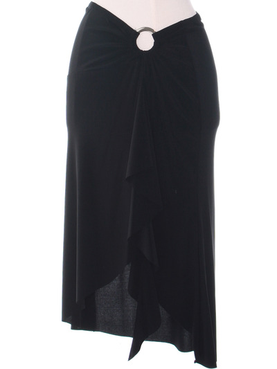 3240 Black Skirt - Black, Alt View Medium