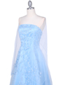 4002 Baby Blue Laced Embroidery Prom Gown - Baby Blue, Alt View Thumbnail