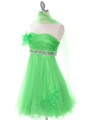 Green Homecoming Dress - Alt Image