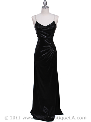 4068D Black Evening Dress, Black