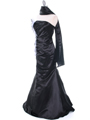 Black Evening Dress - Alt Image