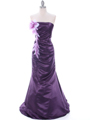 4024 Purple Bridesmaid Dress - Purple, Front View Thumbnail