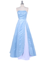 4987 Baby Blue Prom Dress - Baby Blue, Front View Thumbnail